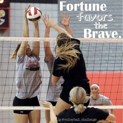 volleyball pictures  Fortune Favors the Brave