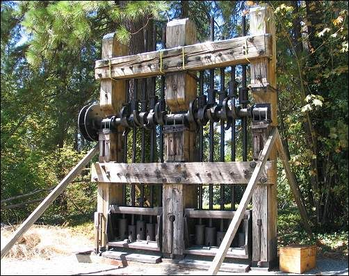 Empire Mine State Historic Park, Grass Valley, CA, Photos, History