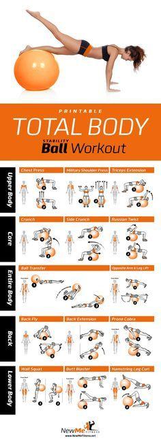 ejercicio muy buenos con pelota, sin duda vas a sentir como trabaja cada musculo de tu cuerpo.