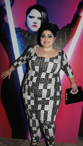 I love Beth Ditto in this, but would not wear it myself.