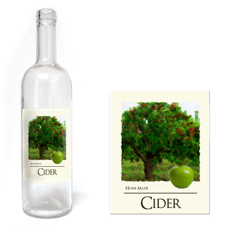 Home Brew Online Home Brew Online Premium Quality Water Proof Labels - Cider 30 Pack - Home Brew Online from Home Brew Online UK