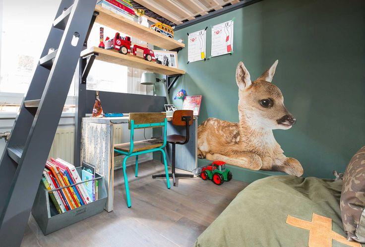 Kinderkamer bij Marre en Jan uit aflevering 2, seizoen 1 | kijken en kopen | Make-over door: Anya van de Wetering | Fotografie Barbara Kieboom