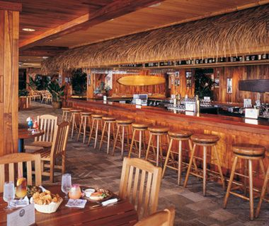 The Barefoot Bar, Duke's, Waikiki Beach, HI  Spent some serious time at this bar. Great buffet fruit breakfasts.