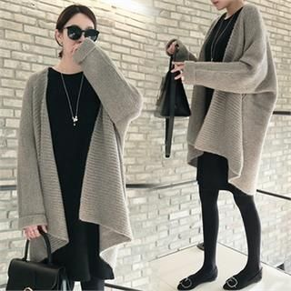 Open-Front Long Cardigan from #YesStyle <3 mayblue YesStyle.com