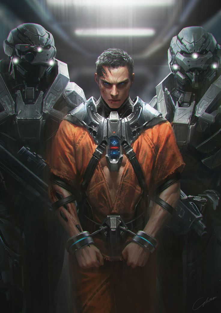 "ArtStation - Before the "" Breaking Out"", G-host Lee"