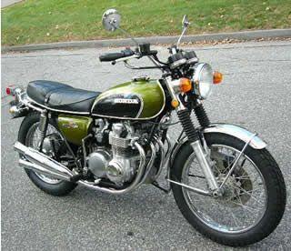 Classic Honda Bike