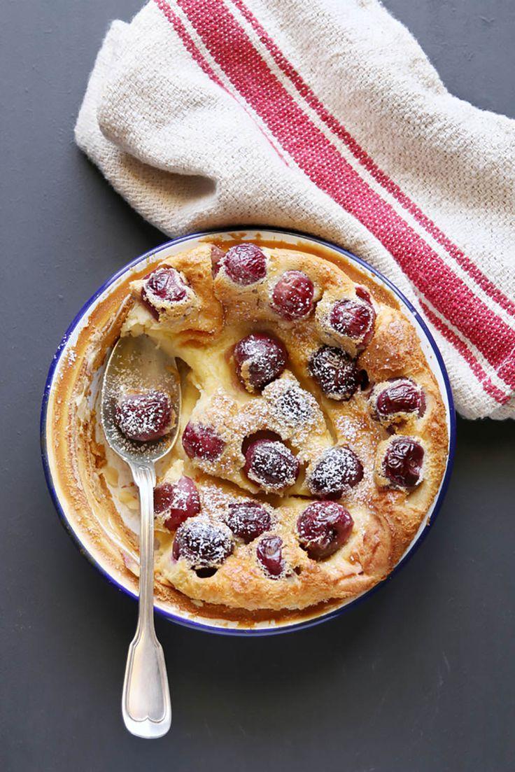 Op zoek naar een lekker dessert voor koudere herfstdagen? Probeer eens deze Clafoutis met druiven.  http://emptythefridge.be/recept/clafoutis-met-druiven/