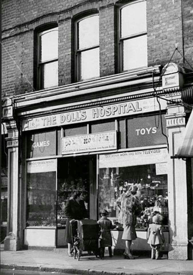 Dolls Hospital Dawes Road Fulham