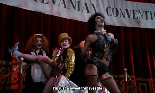 "Tim Curry, Patricia Quinn and Nell Campbell reprise the same roles here that they'd played in the original stage production. | 21 Facts You Probably Didn't Know About ""The Rocky Horror Pictures Show"""