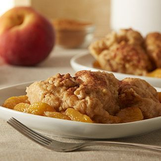 Pressure Cooker Peach Cobbler - David Venable QVC