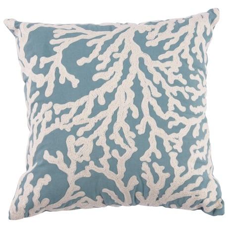 ~Coral Print Cushion~
