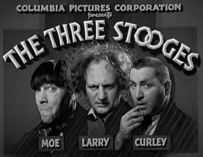 I remember those Sunday evenings stuffing my face with dinner then racing my dad to the TV to watch the 3 stooges <3