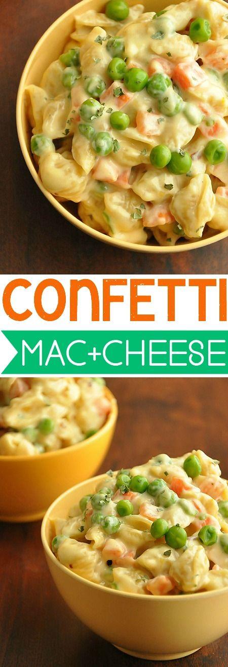 Easy, Cheesy, Ooey, Gooey Mac and Cheese... with veggies!