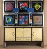 """Víctor Vasarely (Pécs, Hungría, 1906 - París, 1997) """"Composiciones geométricas"""" Seis impresiones enmarcadas"""