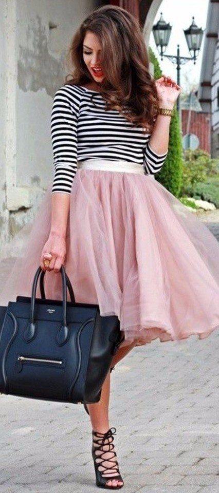 Невероятно красивые юбки из фатина