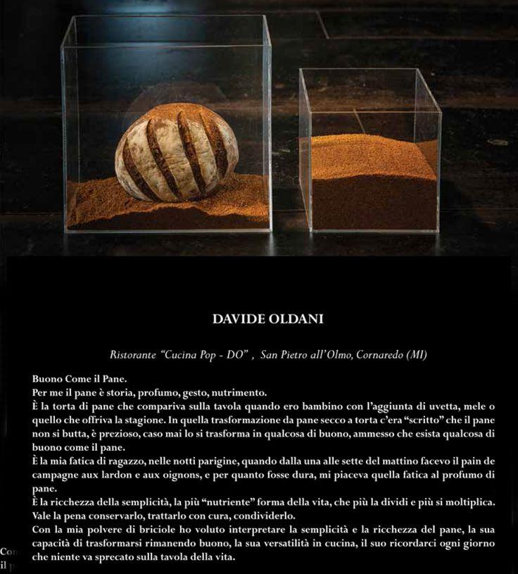 Davide Oldani - L'Arte del pane - LARTE, Milano