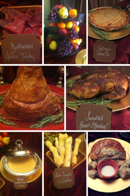 Game of Thrones Party: Food