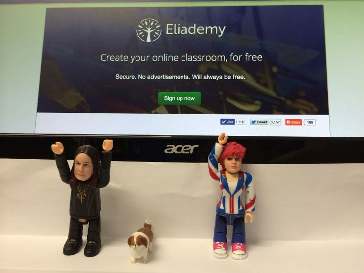 So happy to announce that rock legend and music icon Ozzy Osbourne and part of his family has joined the Eliademy team to Democratize Education with Technology!
