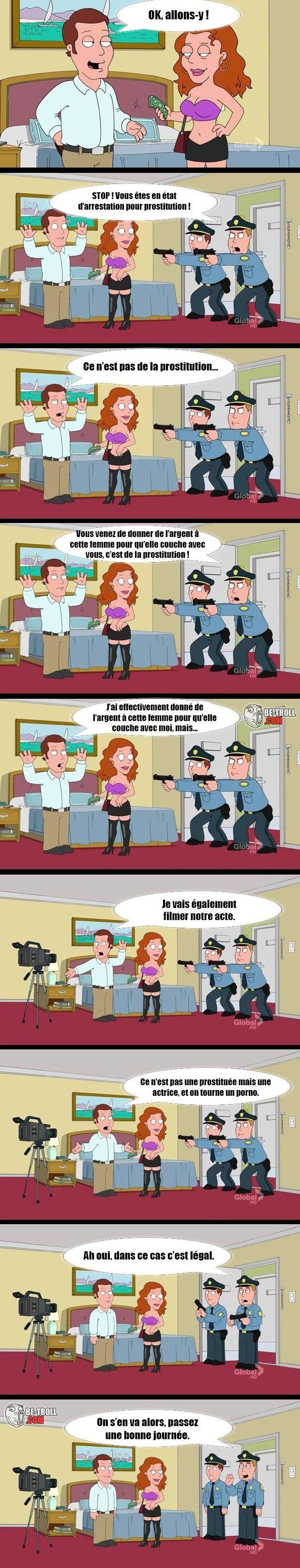 Ce n'est pas de la prostitution... - Be-troll - vidéos humour, actualité insolite