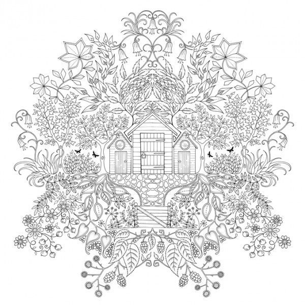 inspirational coloring pages from secret garden enchanted forest and other coloring books for grown