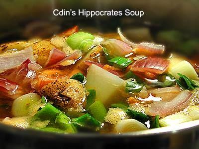 Sopa de Hipócrates es parte de la Terapia Gerson | Vinagre & limón