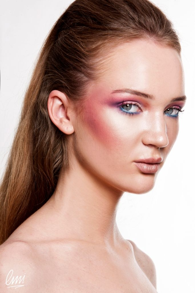 Coloured Editorial Make Up! Excellent work from LMI students!