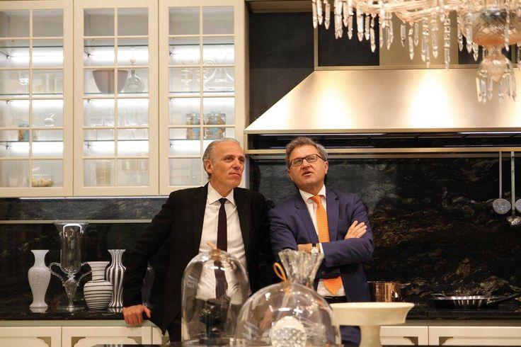 "#Designer Massimo Iosa Ghini talks about his new #kitchen ""Kelly"" at #Eurocucina #Isaloni 2016."