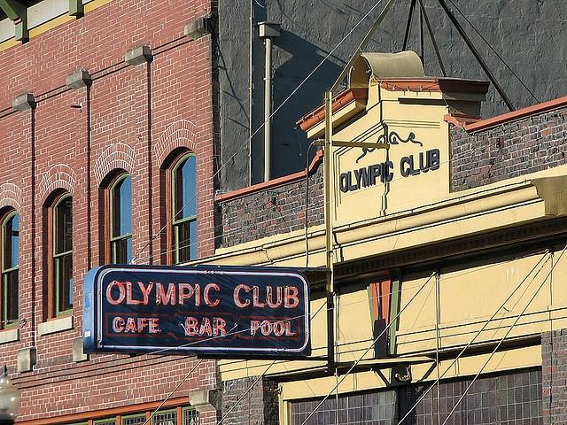 Olympic Club - Centralia, Washington by Vintage Roadside, via Flickr