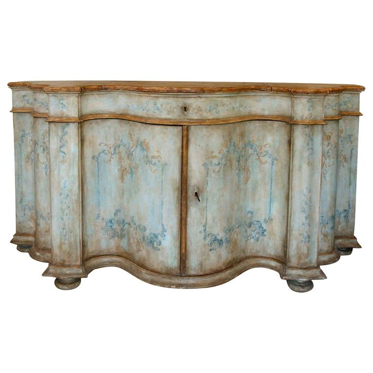 Hand Painted Italian Furniture Part 2 Venetian Credenza U2013 PAINTED .