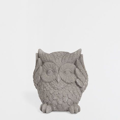 CEMENT OWL - Accessories - Decor and pillows   Zara Home United States