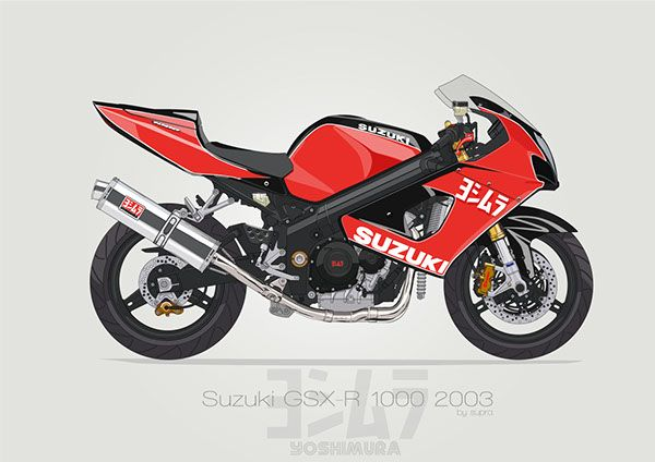suzuki gsxr 1000 k3 k4 yoshimura edition with brembo and. Black Bedroom Furniture Sets. Home Design Ideas