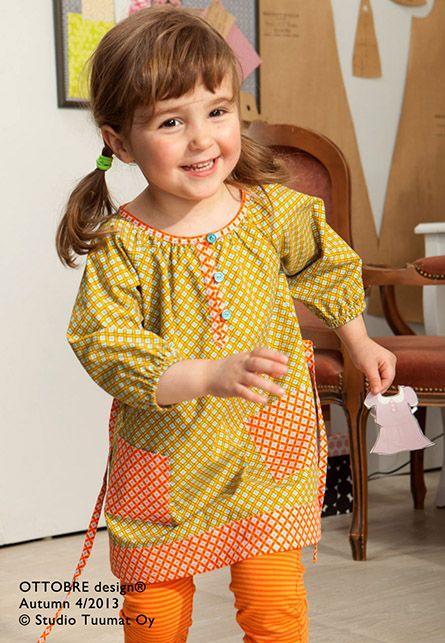 girls tunic sewing pattern