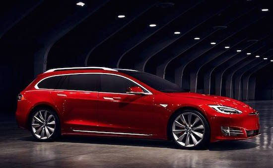 Tesla Model S E 3 Station Wagon Club Italy