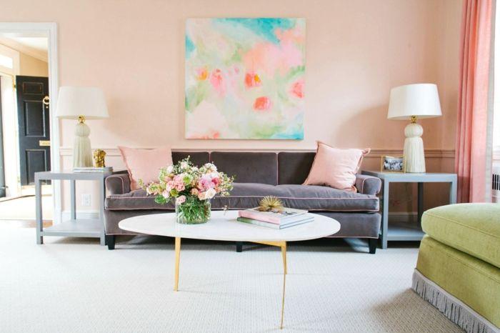 1001 Ideas Sobre Colores Para Salones Y Como Pintar La Sala De Estar Colores Para Habitaciones Ideas De Diseno De Interiores Decoracion De Unas