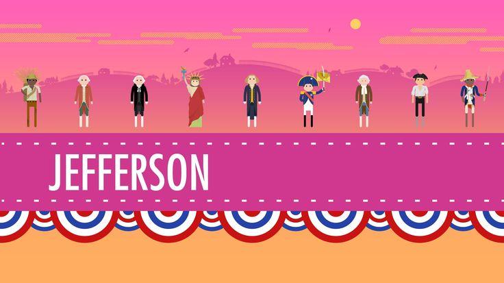Thomas Jefferson & His Democracy: US History #10