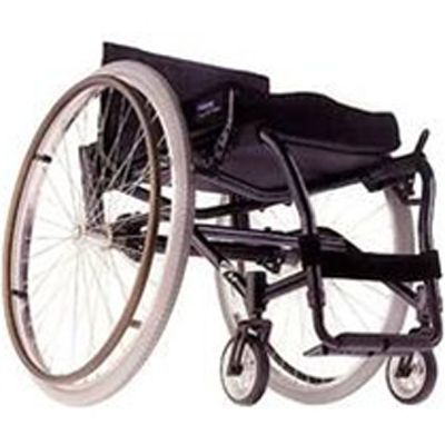 Whether this is your first chair or not, the A4 Ultra Lightweight Wheelchair can be set up very stable or easily adjusted for maximum performance. The new super lightweight titanium frame is more compact and easier to transport.