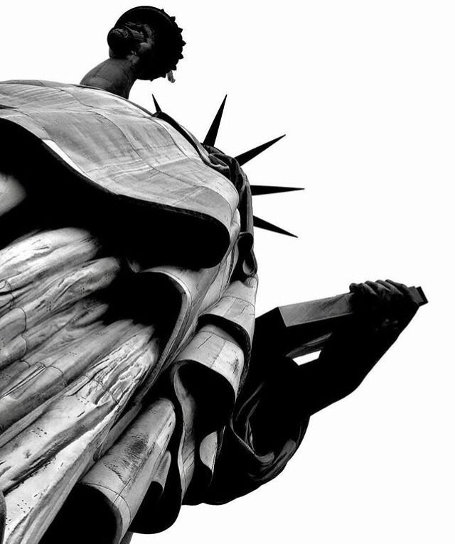 """The Statue of Liberty is a colossal neoclassical sculpture on Liberty Island in New York Harbor in New York City, in the United States. """""""