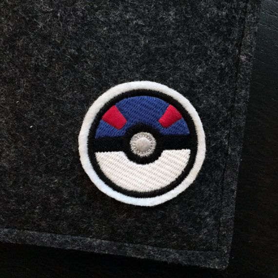 Got to catch them all! This great ball / super ball patch will show everyone your love of the game. A premium patch embroidered with vivid colours on a durable felt base. It measures approximately 2.0 x 2.0  This patch can be sewn or ironed on to your favorite knapsacks, jeans or jackets. For removable options, choose our pin backed version that has a bar pin fastened to the back.