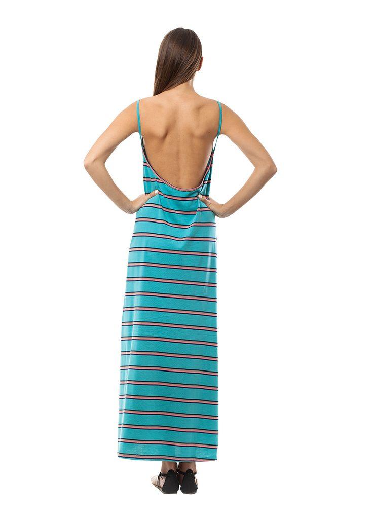 Turkuaz maxi dress. Find it online at www.disu.gr