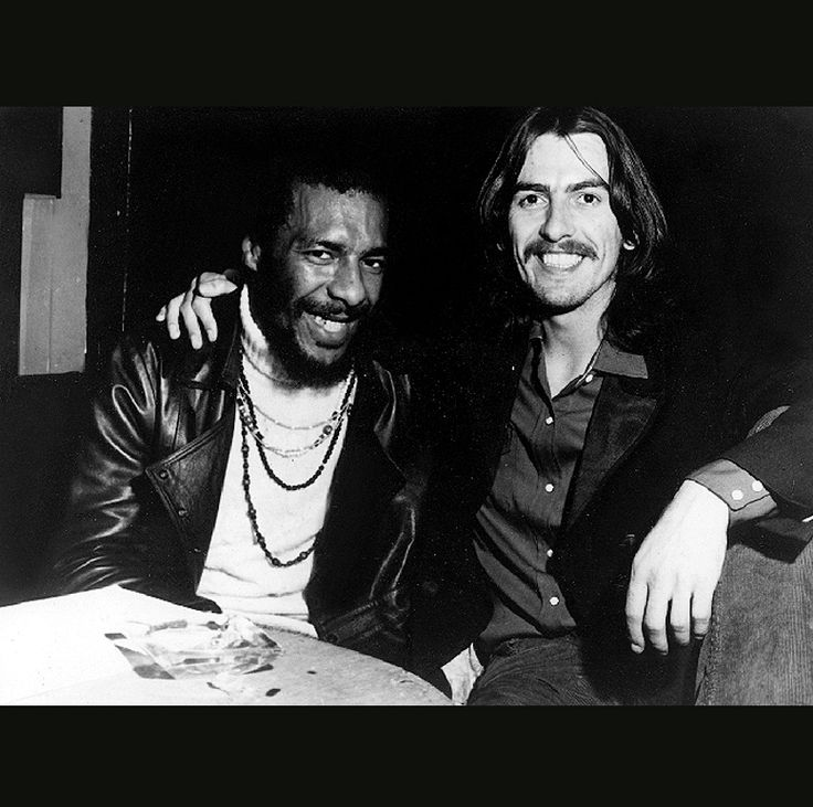 Richie Havens with George Harrison