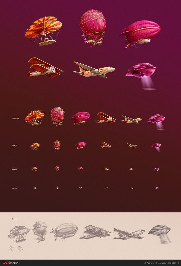 Летательные аппараты (Блоги Техдизайнер.ру — блог о дизайне: PearlStein)