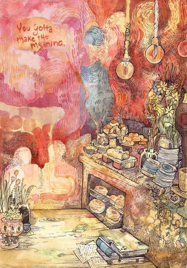 Quiet life by PaperandDust on DeviantArt