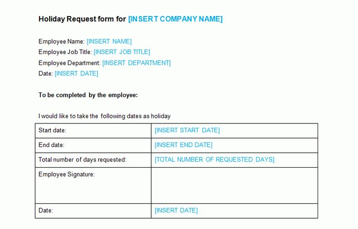 Leave Request Form Template 6 Simple Leave Request Form Beverage - leave request form