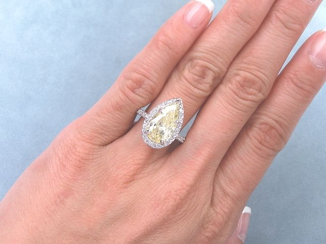 58 best Pear Shape Diamonds images on Pinterest | Pear ...
