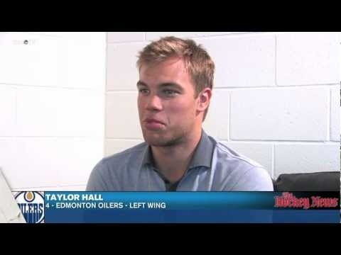 Cause he falls in love easy.....Beauty quote!  Taylor Hall'd look GOOD in a Preds jersey. <3