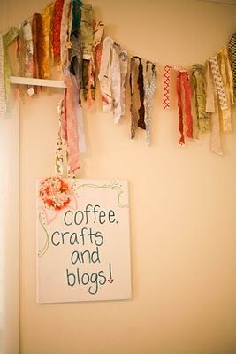 might do this some place in my house... either around my craft table set up or in the toy room.