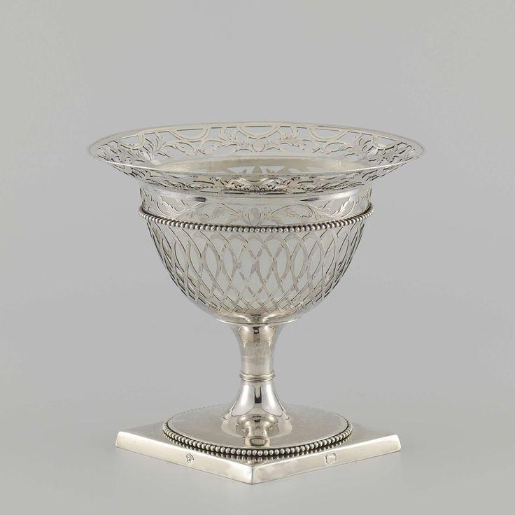 Lepelvaasje, spoon vase, Cornelis Knuysting, 1802