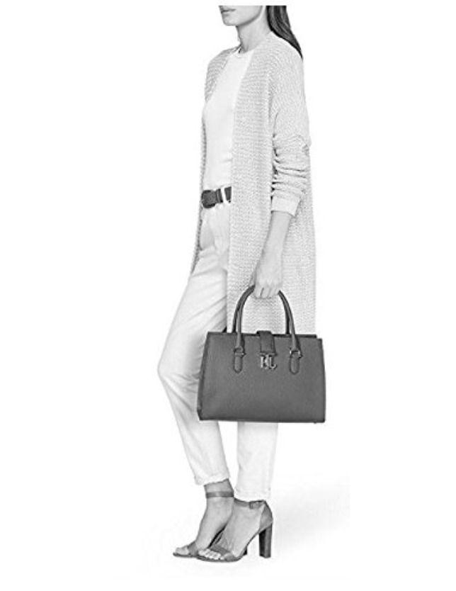 7ed4ae5cb2 Ralph Lauren Brigitte II Pebbled Leather Satchel  228 MSRP  fashion   clothing  shoes  accessories  womensbagshandbags (ebay link)