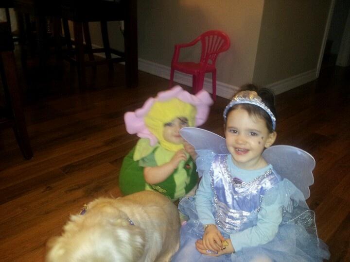 My princesses on Halloween