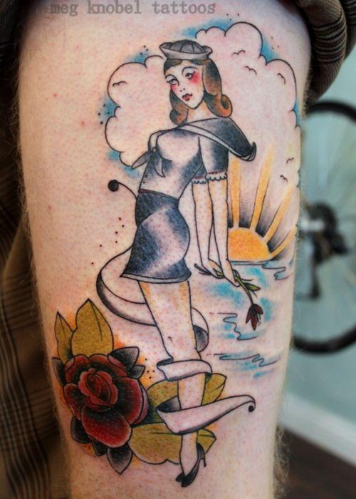 50 Tatuagens de Pin-Ups